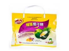 品香园榴莲椰子糖350克