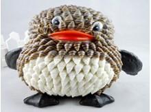 海南特色工艺贝壳动物QQ企鹅·存
